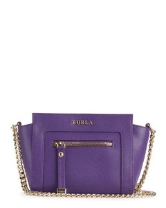 Furla Leather Dust Logo Cross Body Bag