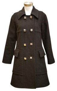 Marc by Marc Jacobs Wool Wool Retro Designer Pea Coat