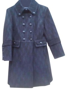 bebe Professional Dress Lace Military Trench Coat