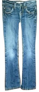 MEK DNM Boot Cut Jeans-Distressed