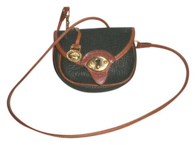 Item - Vintage Awl Mini Flap Made In Usa Multi Color Leather Cross Body Bag