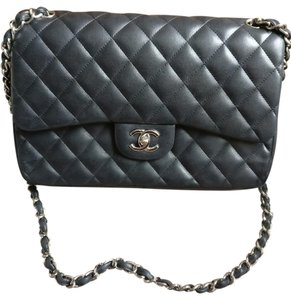 Chanel Classic Classic Flap Maxi Flap Lambskin Shoulder Bag