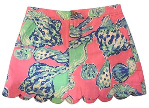 Lilly Pulitzer Lilly Nautical Beach Skort Pink Pout Barefoot Princess