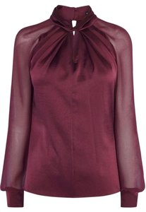 Karen Millen Top dark red