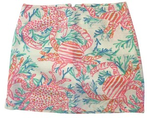 Lilly Pulitzer Love Lilly Many Colors Preppy Skort Getting Steamy Resort White