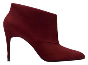 Zara Maroon / Dark Red Boots