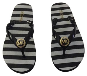 Michael Kors Black and white Sandals