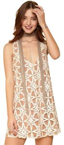 For Love & Lemons Lace And Date Mini Dress