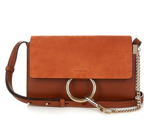 Chloé New Suede Leather Faye Cross Body Bag
