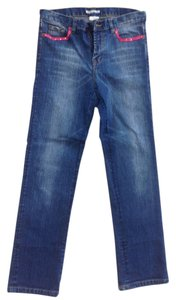 Alberto Makali Fancy Straight Leg Jeans-Light Wash