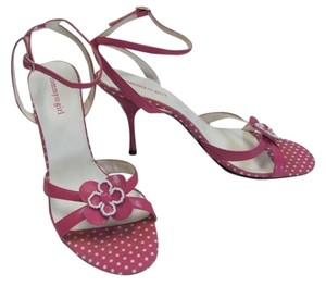 Tommy Hilfiger And Tommy Girl New Pink & White Sandals
