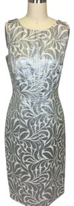 Chetta B. by Sherrie Bloom and Peter Noviello short dress silver on Tradesy