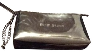 Bobbi Brown Bobbi Brown Silver Cosmetic Case with chain