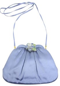 Judith Leiber Blue Clutch
