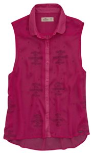 Hollister Top Hot Pink