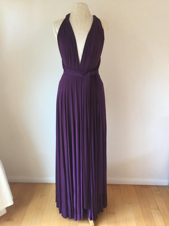 Twobirds Classic Ballgown In Sugar Plum A) Bridesmaid/Mob Dress Size ...
