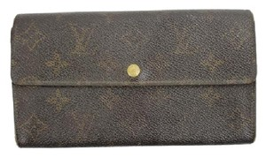 Louis Vuitton Louis Vuitton Monogram Sarah Wallet LVTL23