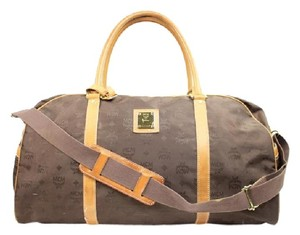 MCM Brown Travel Bag