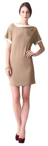 3.1 Phillip Lim Layered Knit Satin Dress