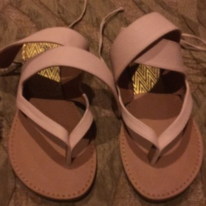 Qupid blush Sandals