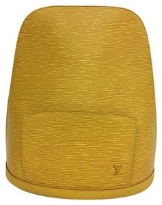 Louis Vuitton Lv Selvedge Leather Gobelins Backpack