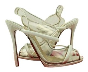 Christian Louboutin Ivory Pumps