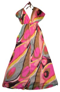 Multicolor/Pink Maxi Dress by H&M