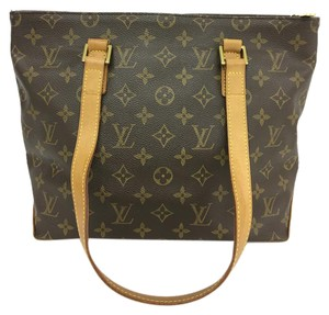 Louis Vuitton Lv Monoram Cabas Piano Canvas Shoulder Bag