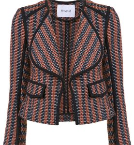 10 Crosby Derek Lam Coral Multi Womens Jean Jacket