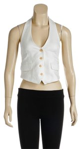 Paula Cahen D'Anvers Cream Halter Top