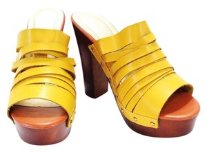 Makers yellow Mules