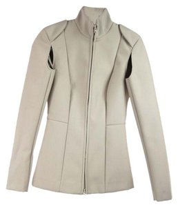 Maison Martin Margiela, H & M Tan Tailored Zipper Down Jacket
