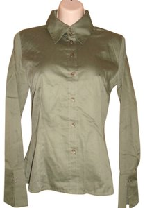 Mexx Button Down Shirt Green