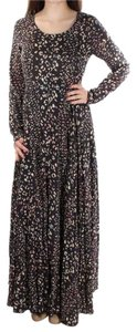 Shark Print Maxi Dress by Free People First Kiss Maxi