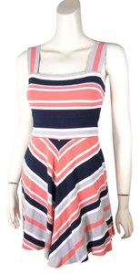 Banana Republic Striped Milly Collection Dress