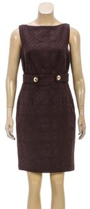 MILLY short dress Brown on Tradesy