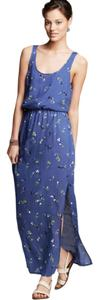 Blue Maxi Dress by Splendid Maxi Floral Sleeveless