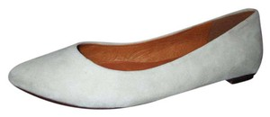 Madewell Leather Suede bone Flats