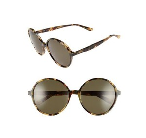 Valentino Tortoiseshell Women's Oversized 59mm Rounded Retro Sunglasses