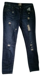 Arden B Skinny Jeans-Distressed