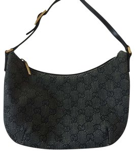 Gucci Satchel in Dark Denim Blue/Black