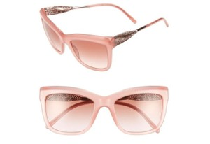 Burberry Burberry Women's Square Frame Opal Pink Gradient Acetate Sunglasses