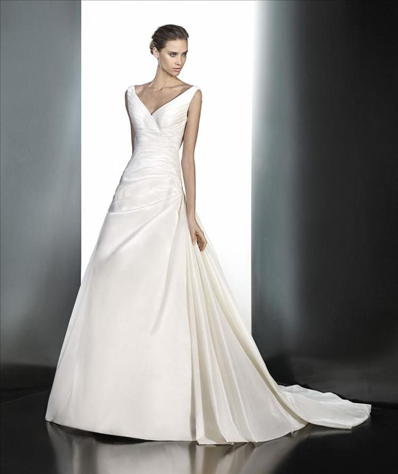 Pronovias Off White Praveda Wedding Dress Size 18 (XL, Plus 0x ...