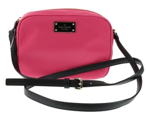 Kate Spade Crossbody Nylon Pink Mindy Shoulder Bag