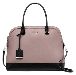 Kate Spade Satchel in Light Pink and Black