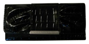 Other Dressy Black Synthetic Patent Leather Wallet