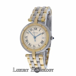 Cartier Lady's Cartier Panthere Vendome Cougar 3 Row 18K Gold 30mm Quartz Watc