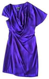 Catherine Malandrino Silk Draped Dress