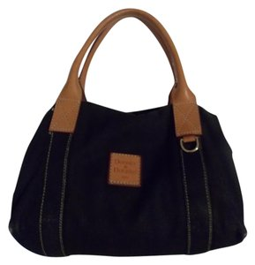 Dooney & Bourke Satchel in Black / Brown