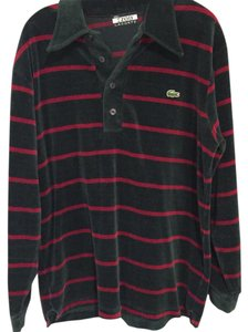 Lacoste T Shirt red green
